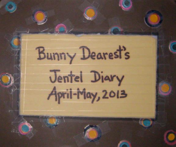 jentel diary cover